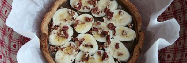 Koolhydraatarm en glutenvrij recept voor banoffee pie