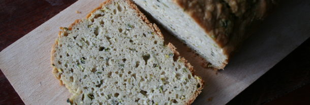 Brood recept met courgette