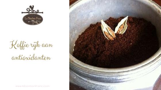 Koffie rijk aan antioxidanten