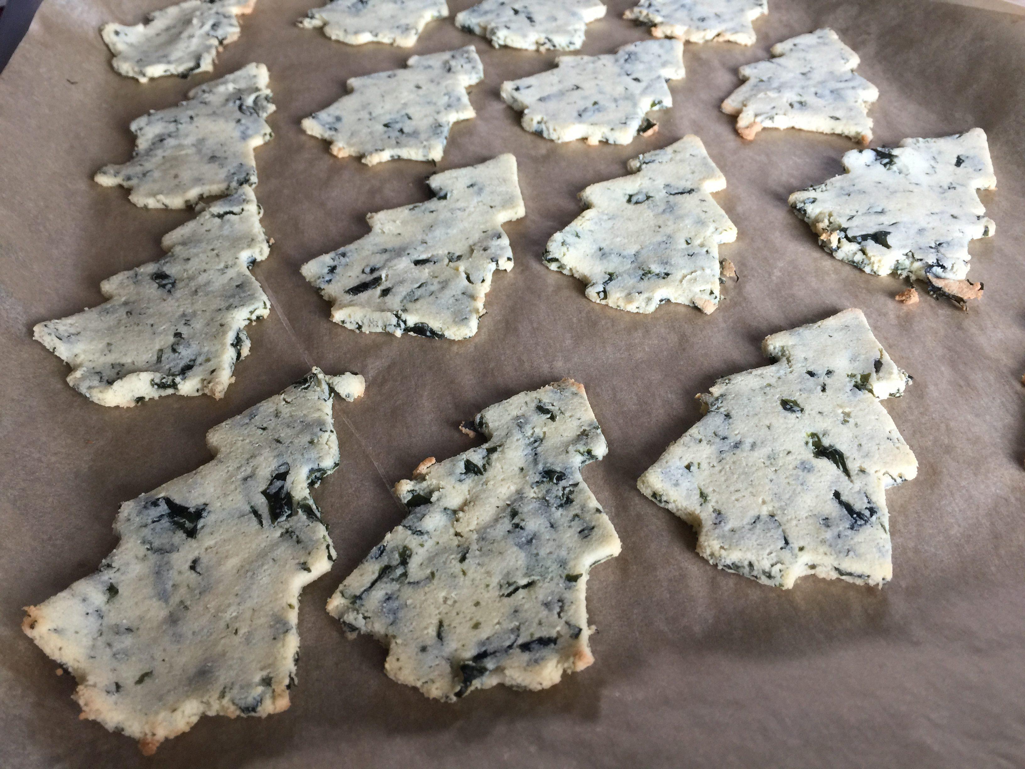 Toastjes glutenvrij met zeewier